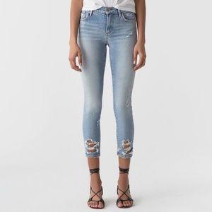 AGOLDE Sophie crop skinny jeans - 24 BNWT
